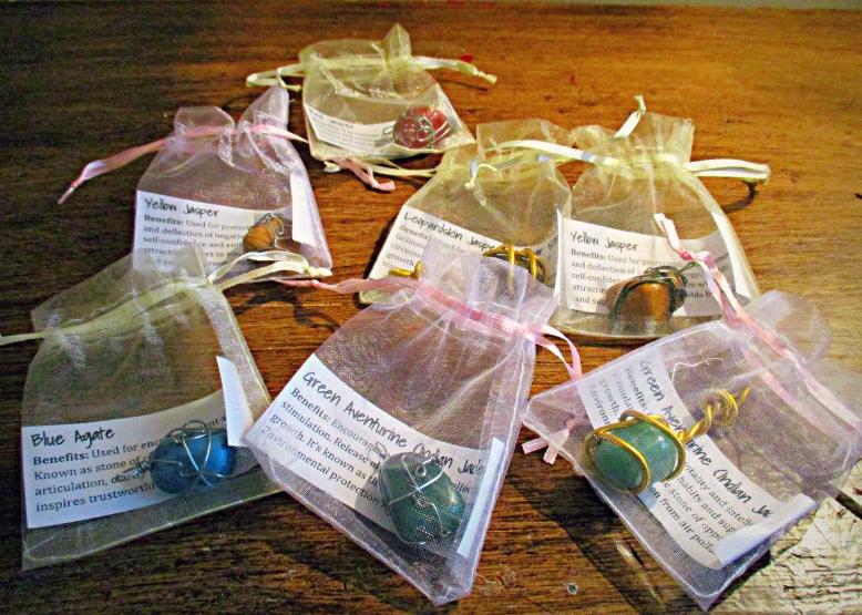 Rock Necklaces - a bunch