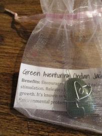 Rock Necklaces - Green Aventurine 2