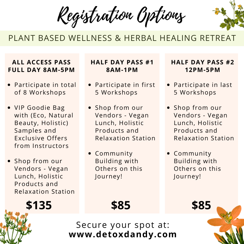 PLANT BASED WELLNESS & HERBAL HEALING RETREAT